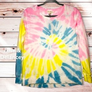 NWT: Jane and Delancey Anthropologie Tie Dye Top